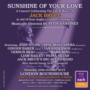 Jack Bruce tribute