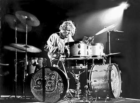 Ginger Baker of Cream