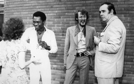 Fela Kuti & Ginger Baker at ARC studios