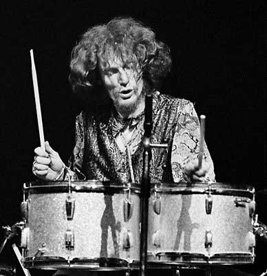 Ginger Baker with Cream