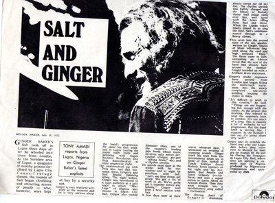 Ginger Baker & Salt