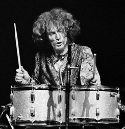 Ginger Baker & the Ludwig Silver Sparkle