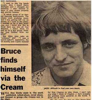 Jack Bruce finds himself via The Cream